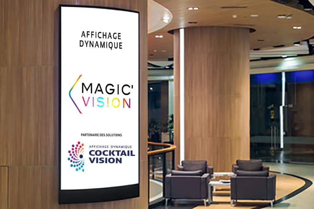 Panneau LED intérieur - Magic Vision