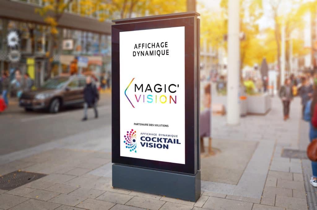 Ecran LED affichage numérique extérieur ville - Magic Vision