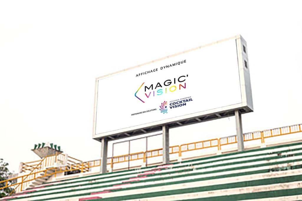 écran LED Stade de foot - affichage numérique - Magic Vision