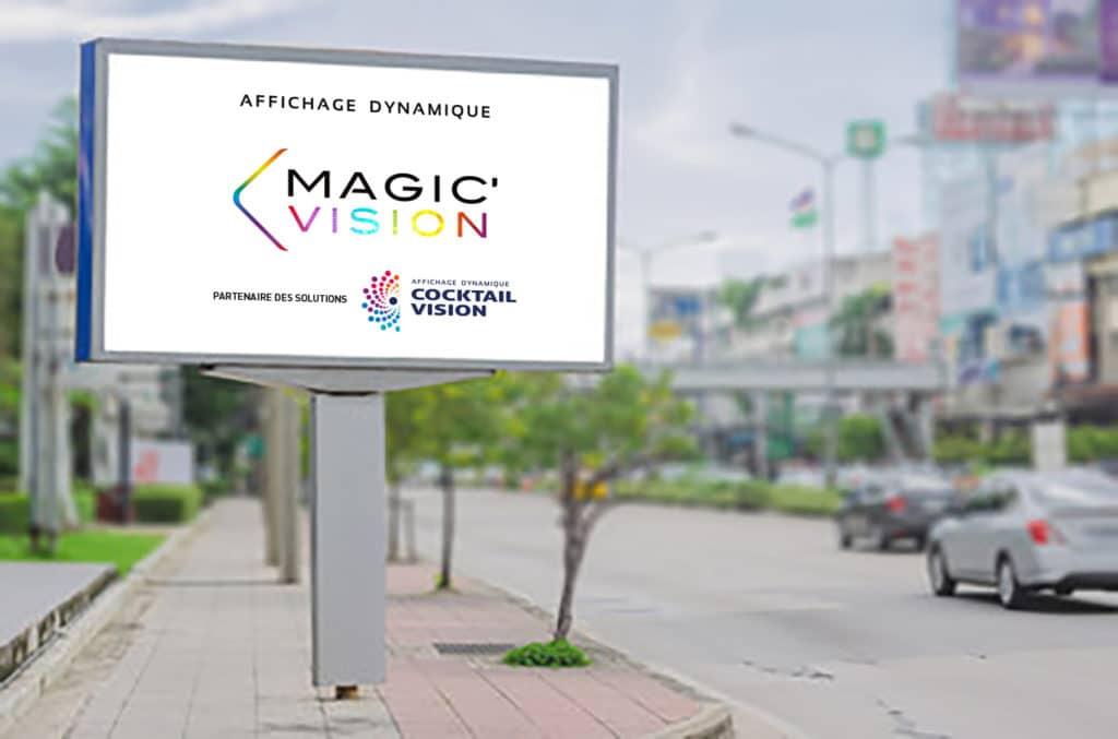 ecran LED sur Mat Ville - Magic Vision