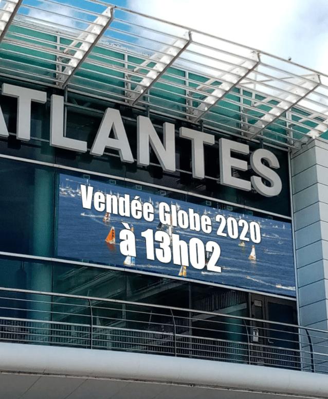 Affichage numérique panneau LED Vendée Globe 2020 - Magic Vision