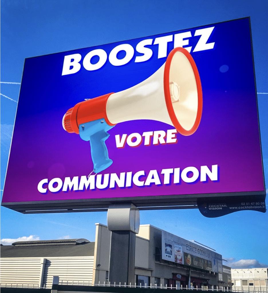 Booster votre communication - affichage numérique - Magic Vision