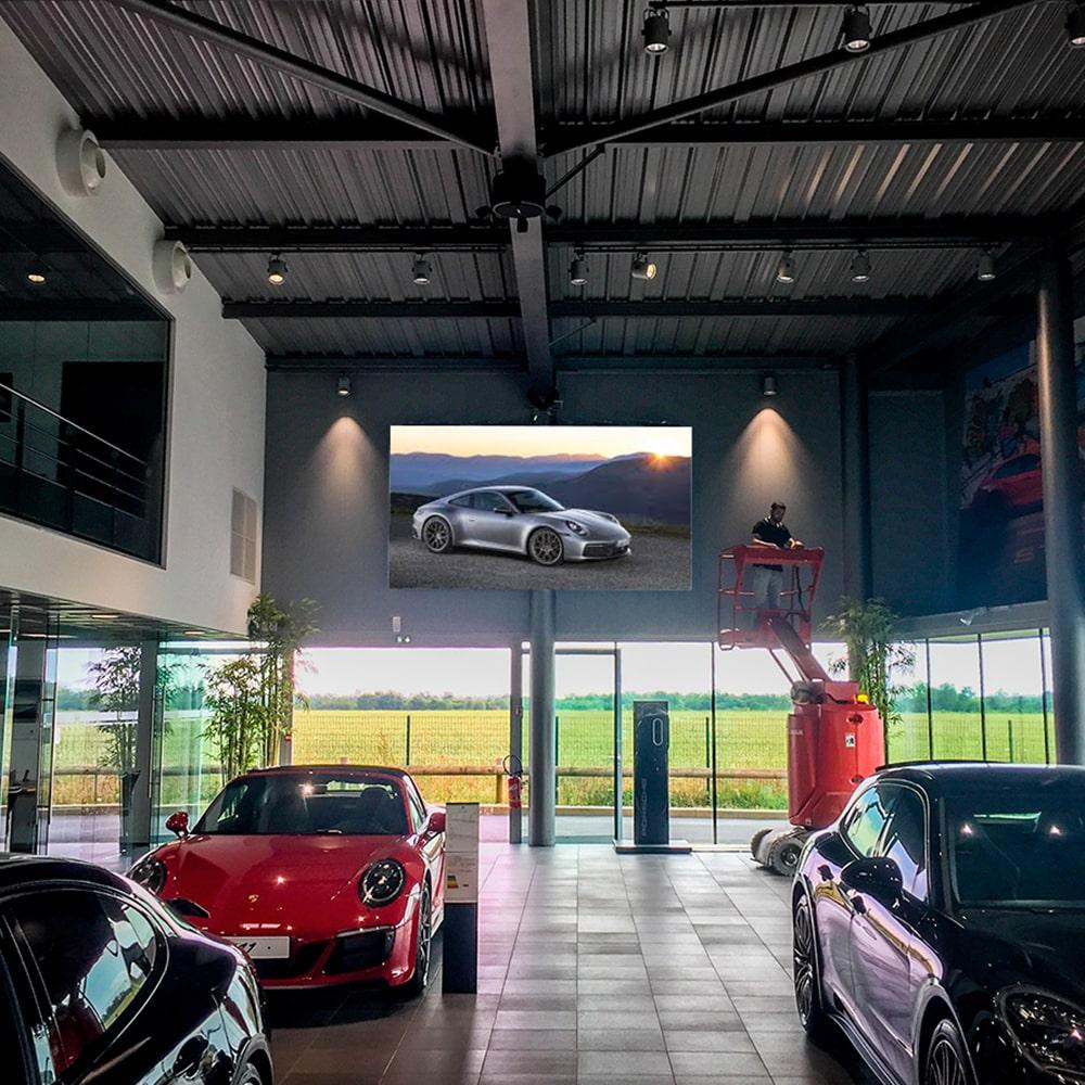 Panneau mural intérieur LED Ferrari - Magic Vision