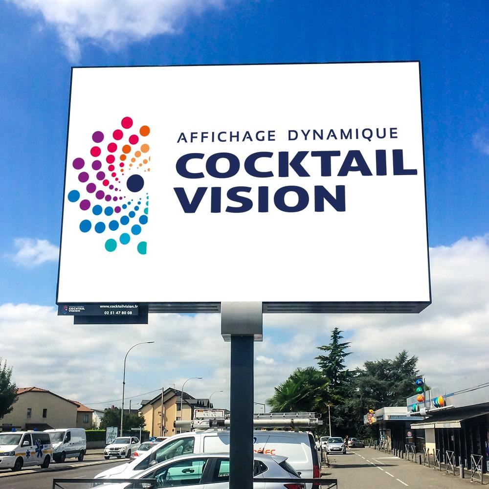 Panneau LED sur Mat Ville Affichage dynamique - Magic Vision