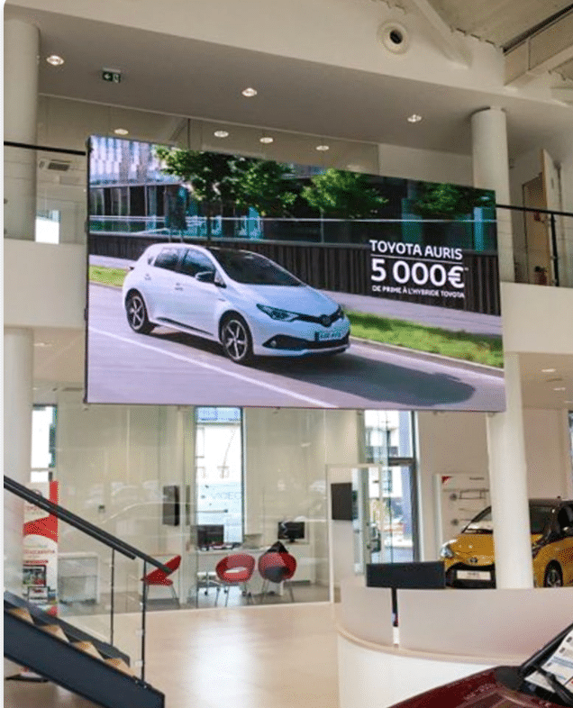 Panneau Lumineux LED mural intérieur Toyota - Magic Vision